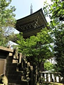 道場寺三重塔3