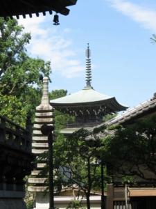 道場寺三重塔2