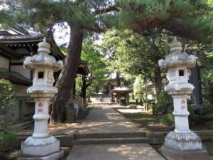 三宝寺参道