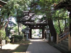 三宝寺御成門2
