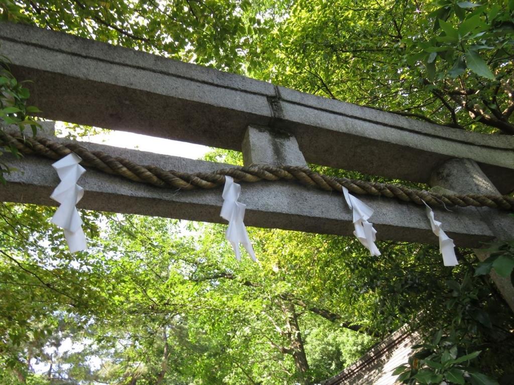 石神井氷川神社鳥居