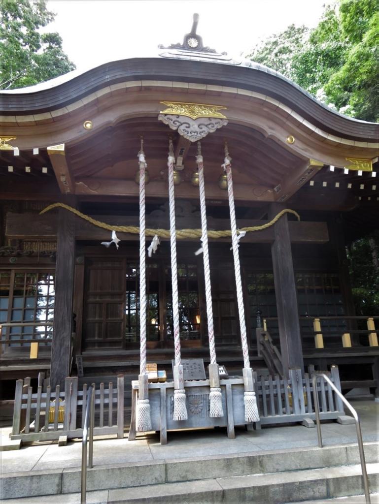 石神井氷川神社社殿
