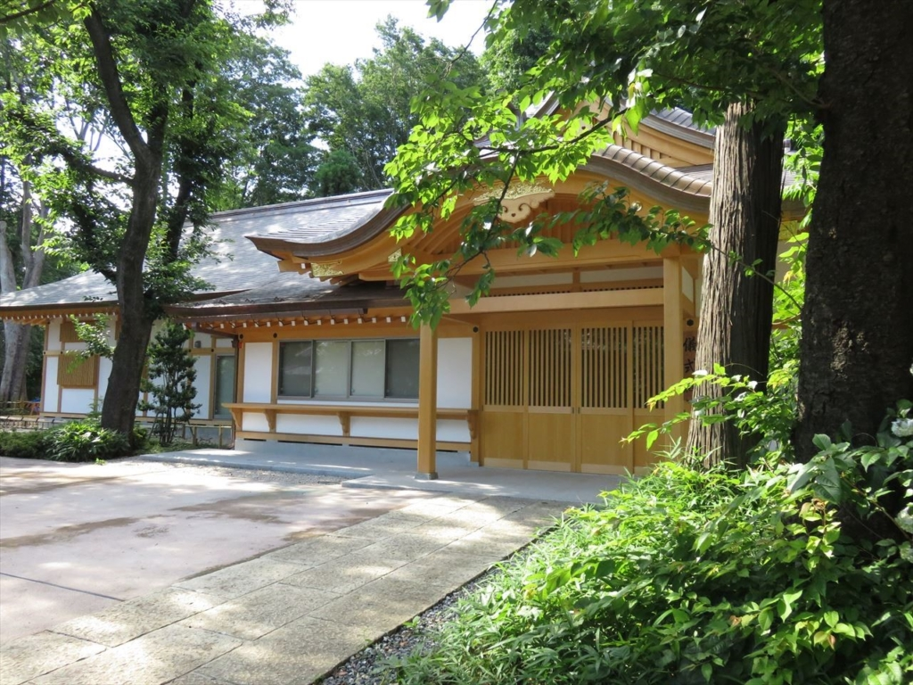 石神井氷川神社客殿