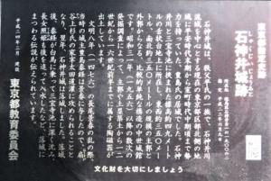 石神井城説明文