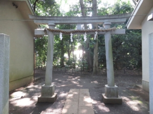 石神井氷川神社鳥居2