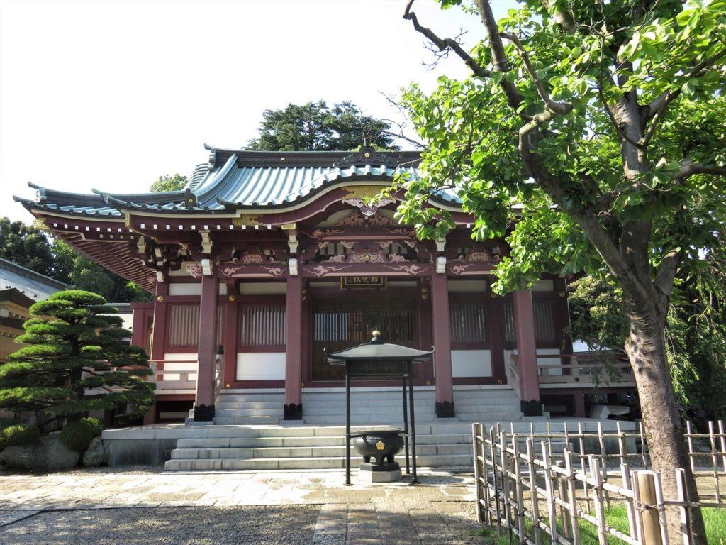 禅定院本堂