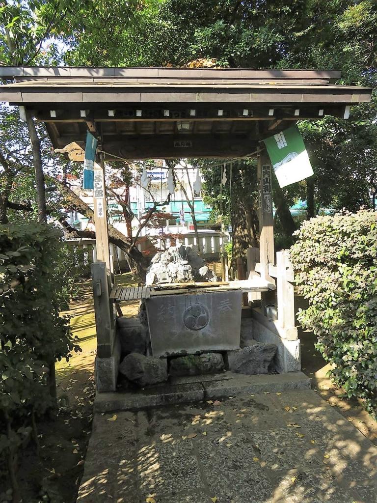 武蔵野八幡宮手水舎