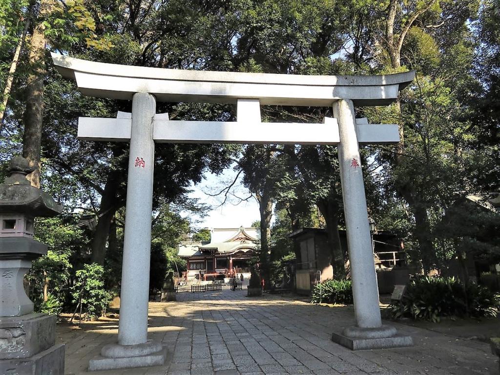 武蔵野八幡宮大鳥居