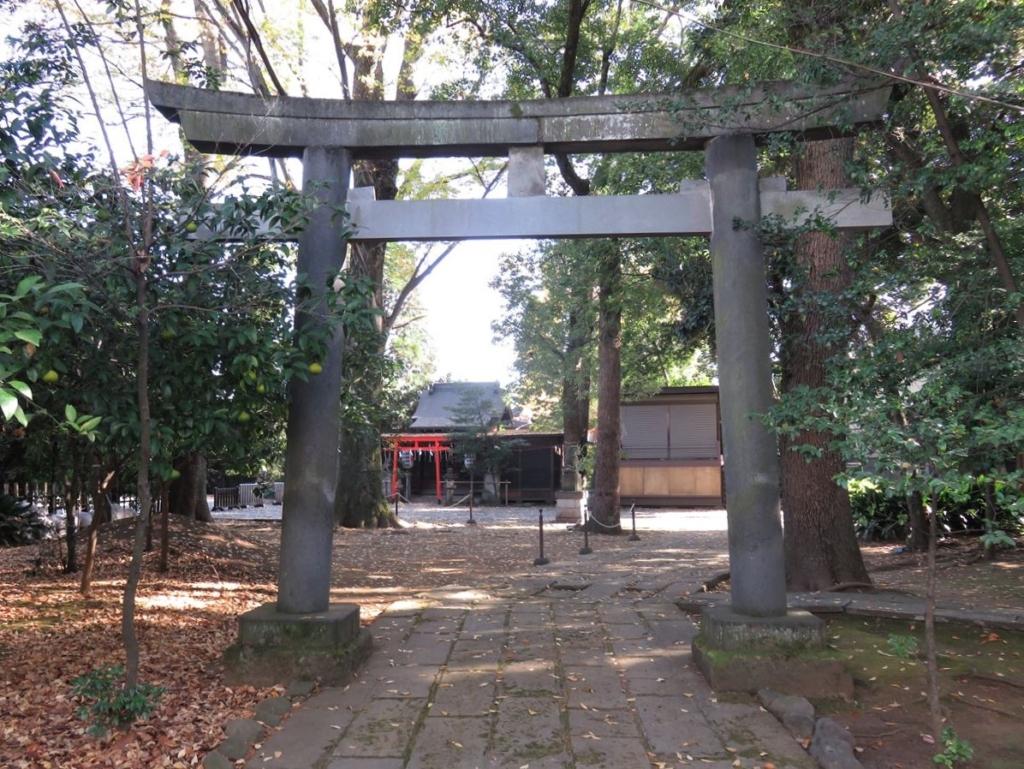 武蔵野八幡宮西鳥居