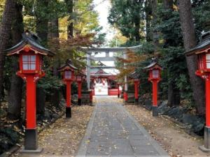 馬橋稲荷神社三の鳥居