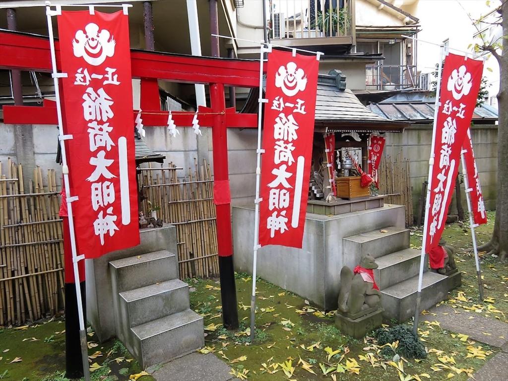 高円寺氷川神社内稲荷神社