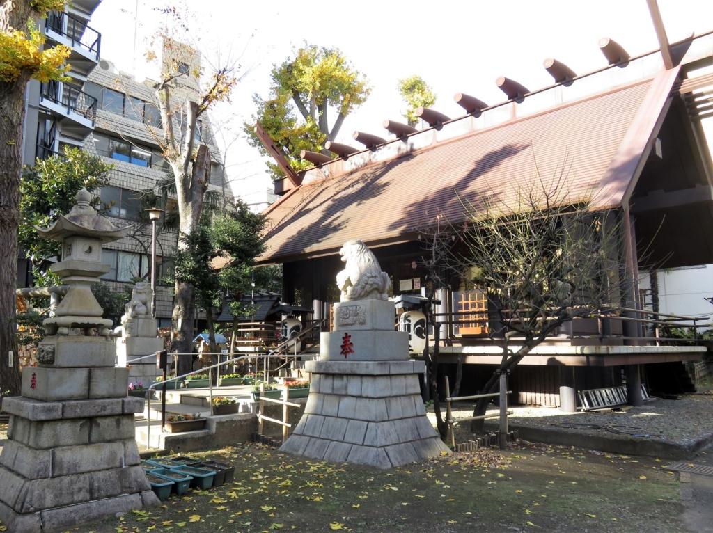 高円寺氷川神社社殿