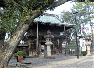 妙法寺山門2