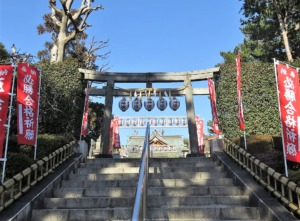 沼袋氷川神社二の鳥居