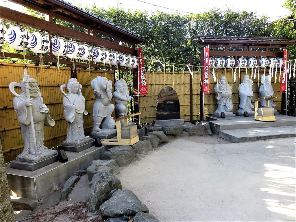 沼袋氷川神社中野七福神