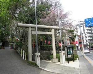田無神社一の鳥居
