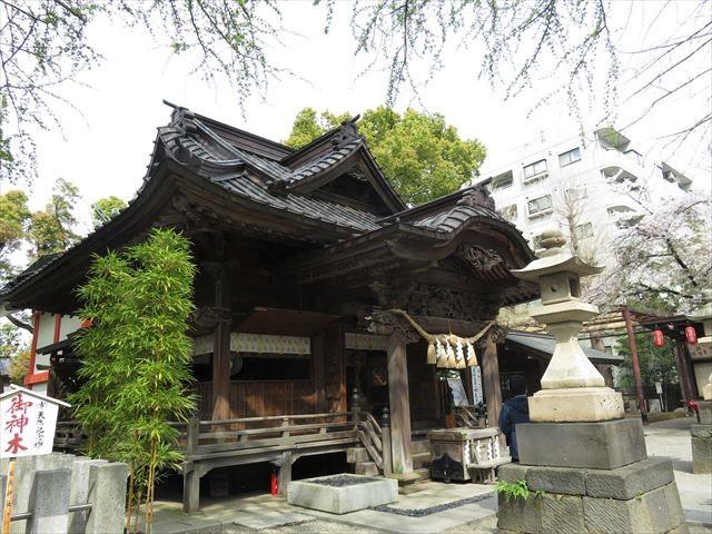 田無神社本殿・拝殿