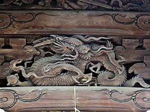 田無神社本殿・拝殿2