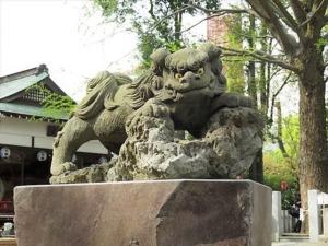 田無神社狛犬3