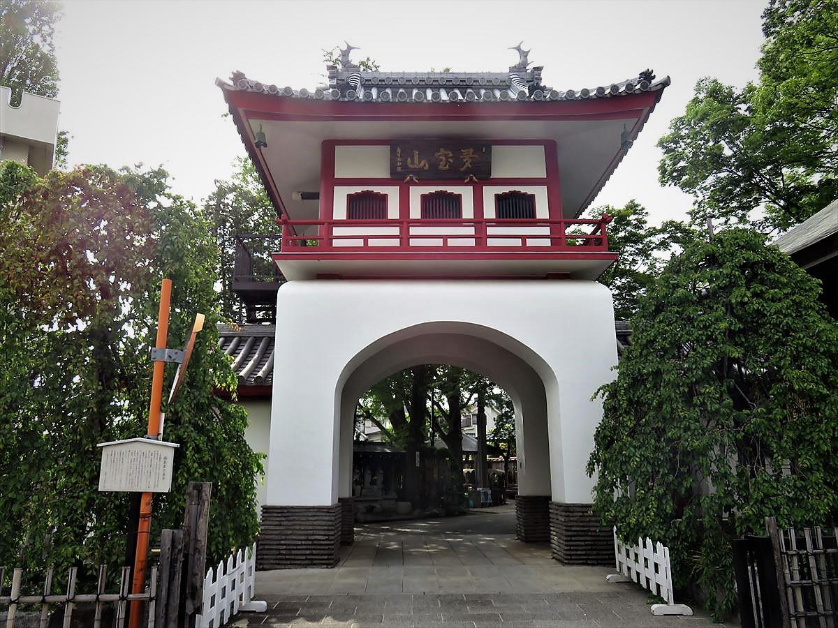成願寺山門