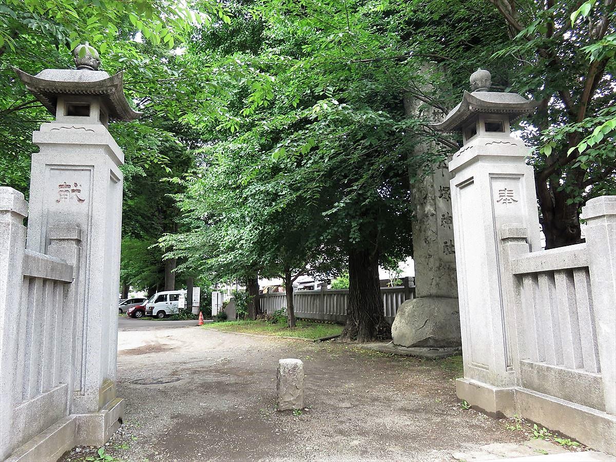 平塚神社正門
