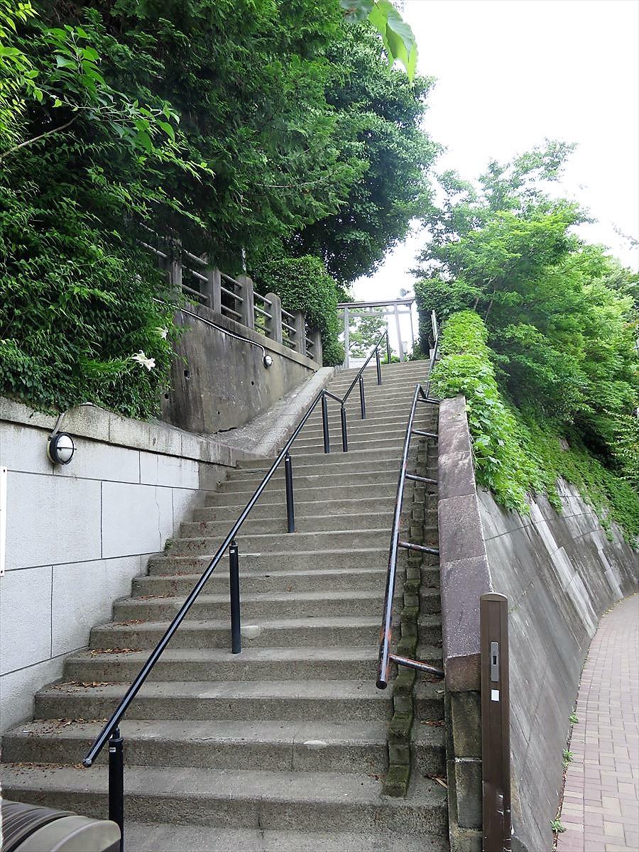 平塚神社東門