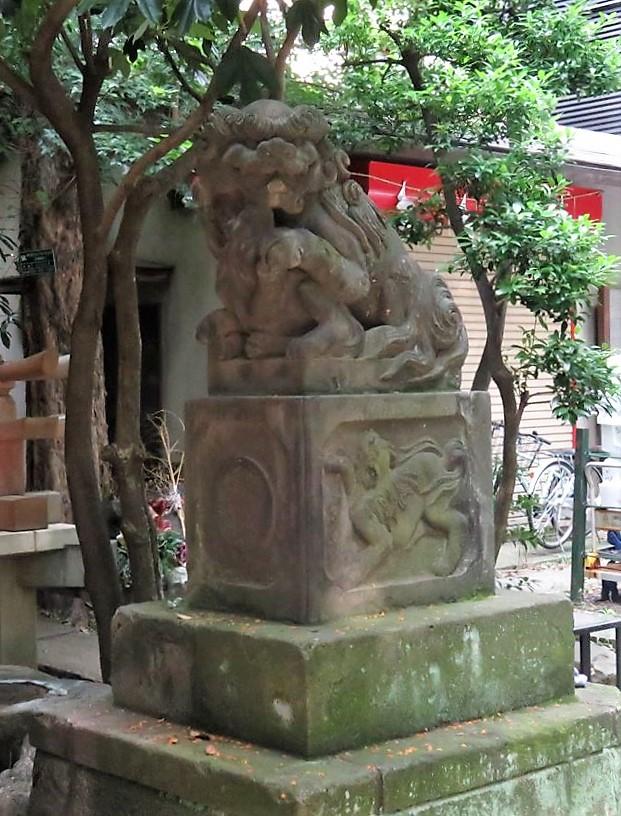 稲荷鬼王神社狛犬4