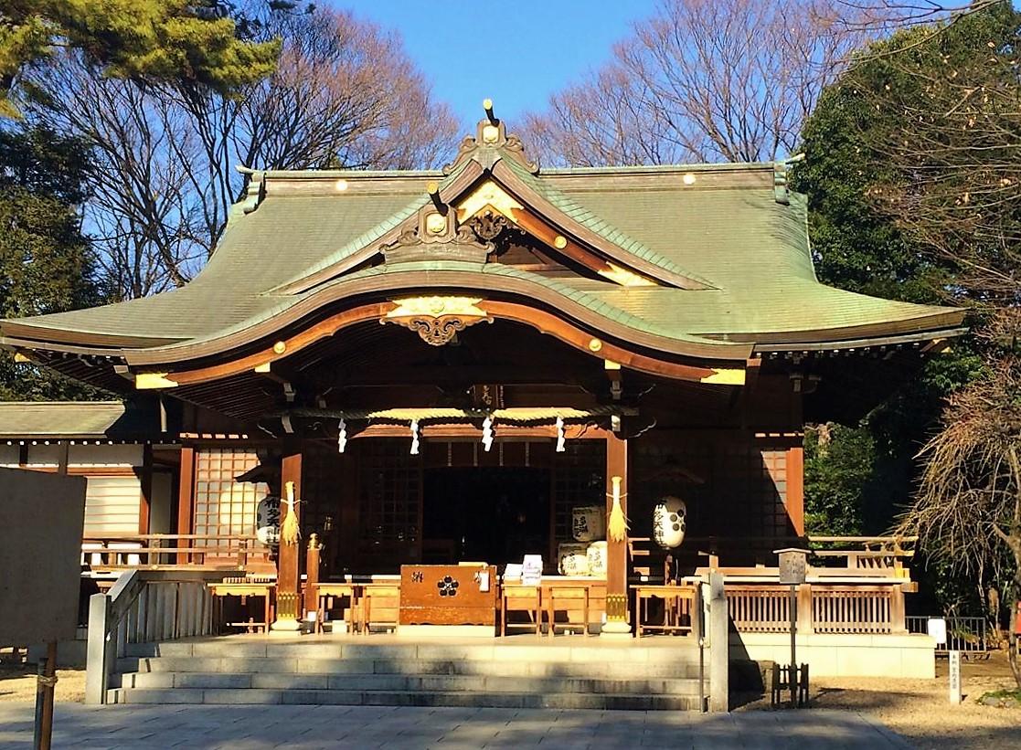 布多天神社殿1